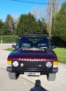 LHD 1989 4 Door Classic Range Rover.