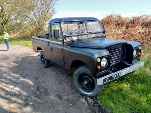 1963 Land Rover Series 2a /3 109 pickup engine refurbed