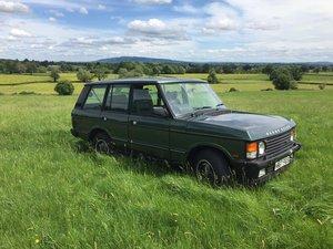1990 Range Rover Vogue SE Epsom Green For Sale