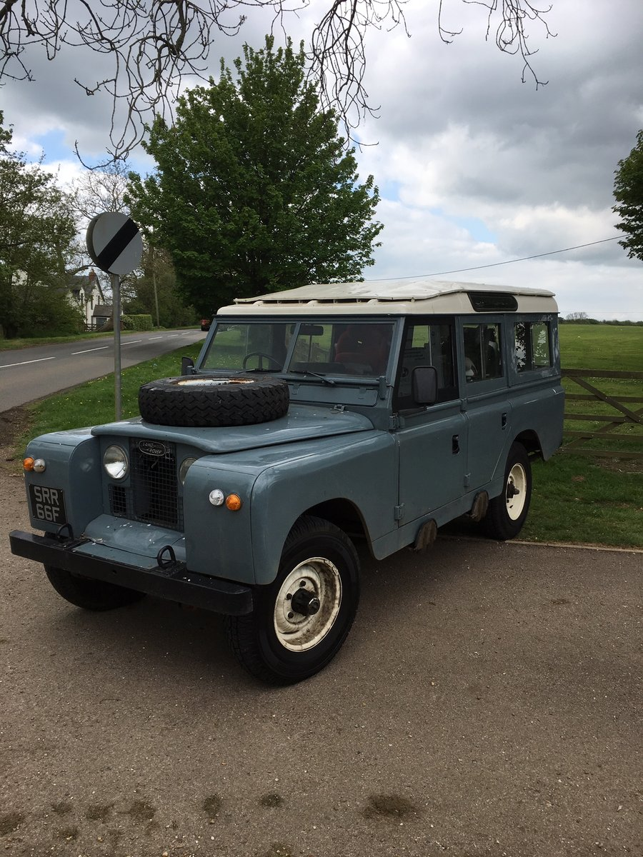 1968 Land Rover Series 2a 109 LWB Diesel Station Wagon For Sale (picture 1 of 6)