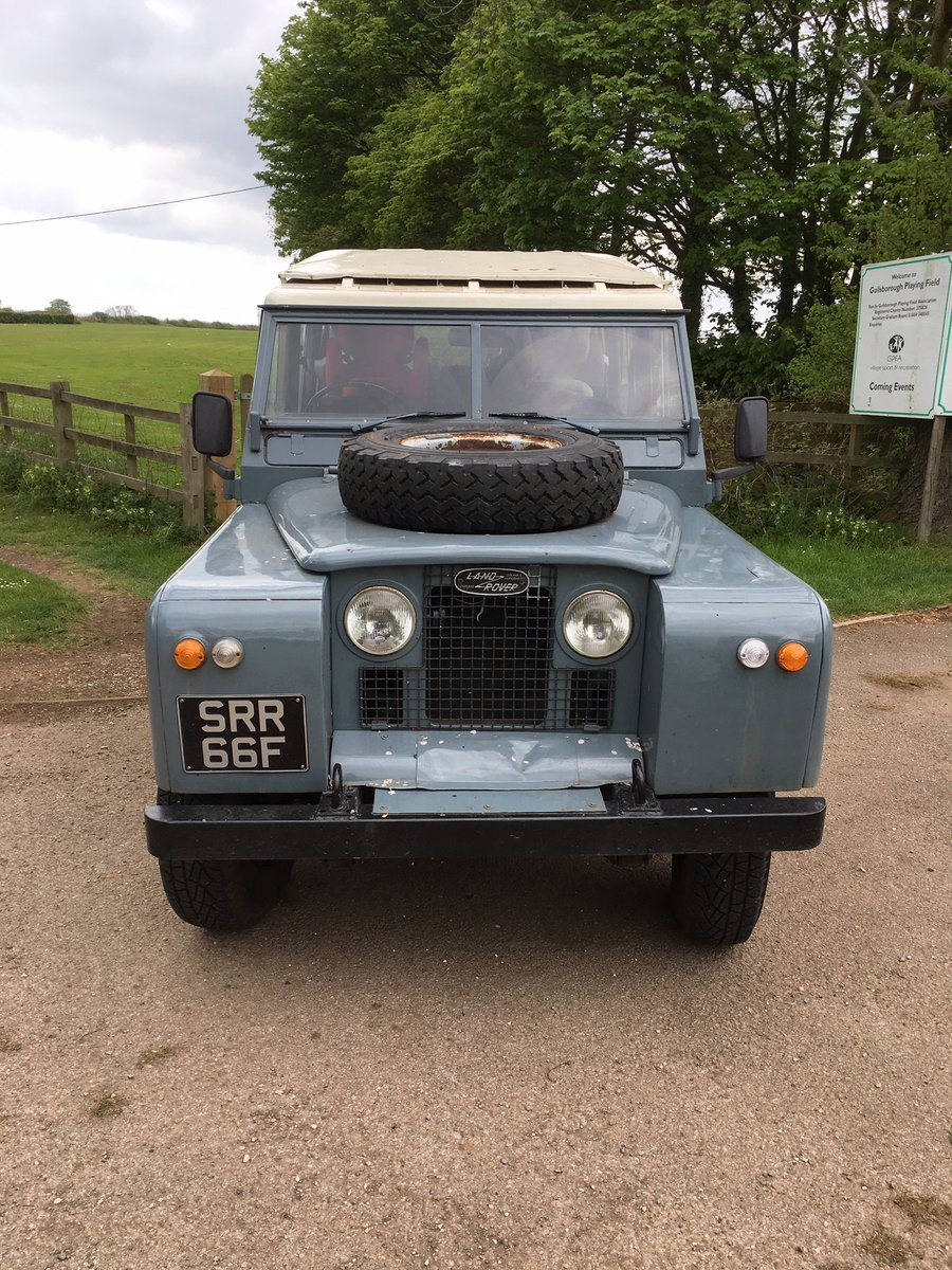 1968 Land Rover Series 2a 109 LWB Diesel Station Wagon For Sale (picture 2 of 6)