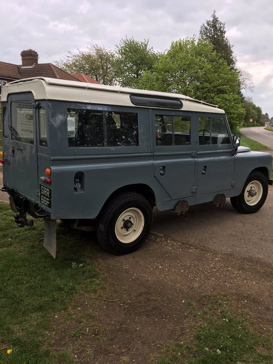 1968 Land Rover Series 2a 109 LWB Diesel Station Wagon For Sale (picture 4 of 6)