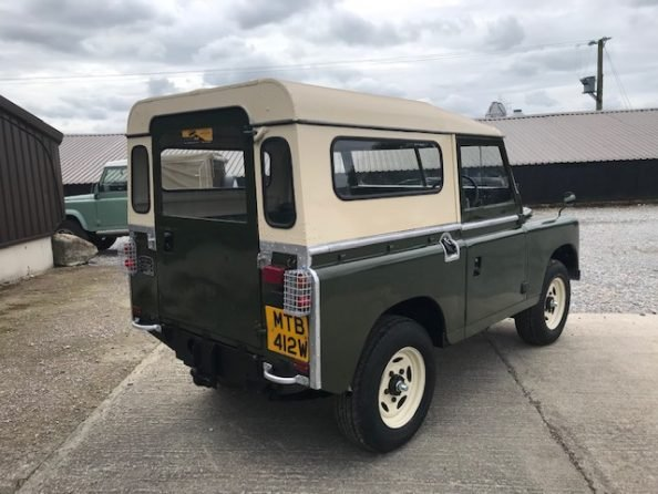 1977 Land Rover® Series 3 *MOT and Tax Exempt* (MTB) SOLD (picture 4 of 6)