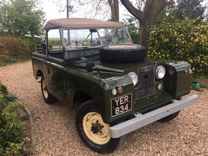 1961 Land Rover Series 2 SWB at ACA 15th June  For Sale
