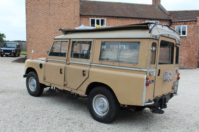 1972 Land Rover Searle Carawagon Project  For Sale (picture 2 of 6)
