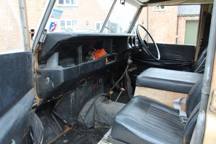 1972 Land Rover Searle Carawagon Project  For Sale (picture 3 of 6)