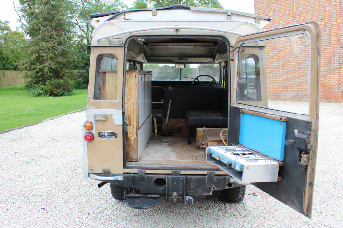 1972 Land Rover Searle Carawagon Project  For Sale (picture 4 of 6)