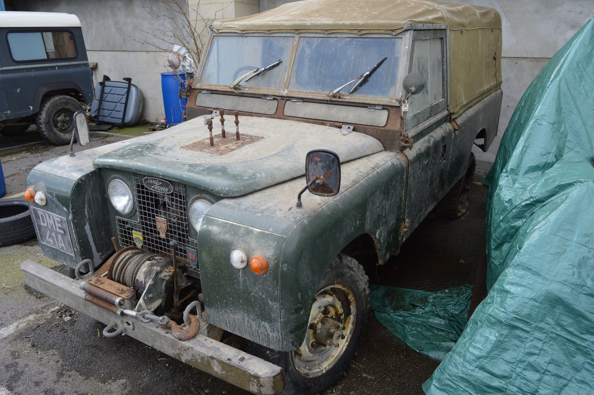 1963 Land Rover Series IIA For Auction Friday 12th For Sale by Auction (picture 1 of 6)
