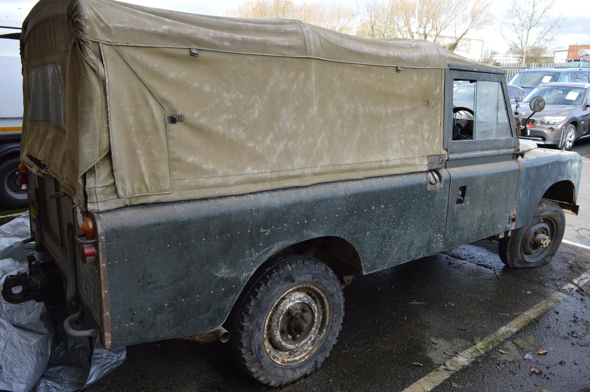 1963 Land Rover Series IIA For Auction Friday 12th For Sale by Auction (picture 2 of 6)