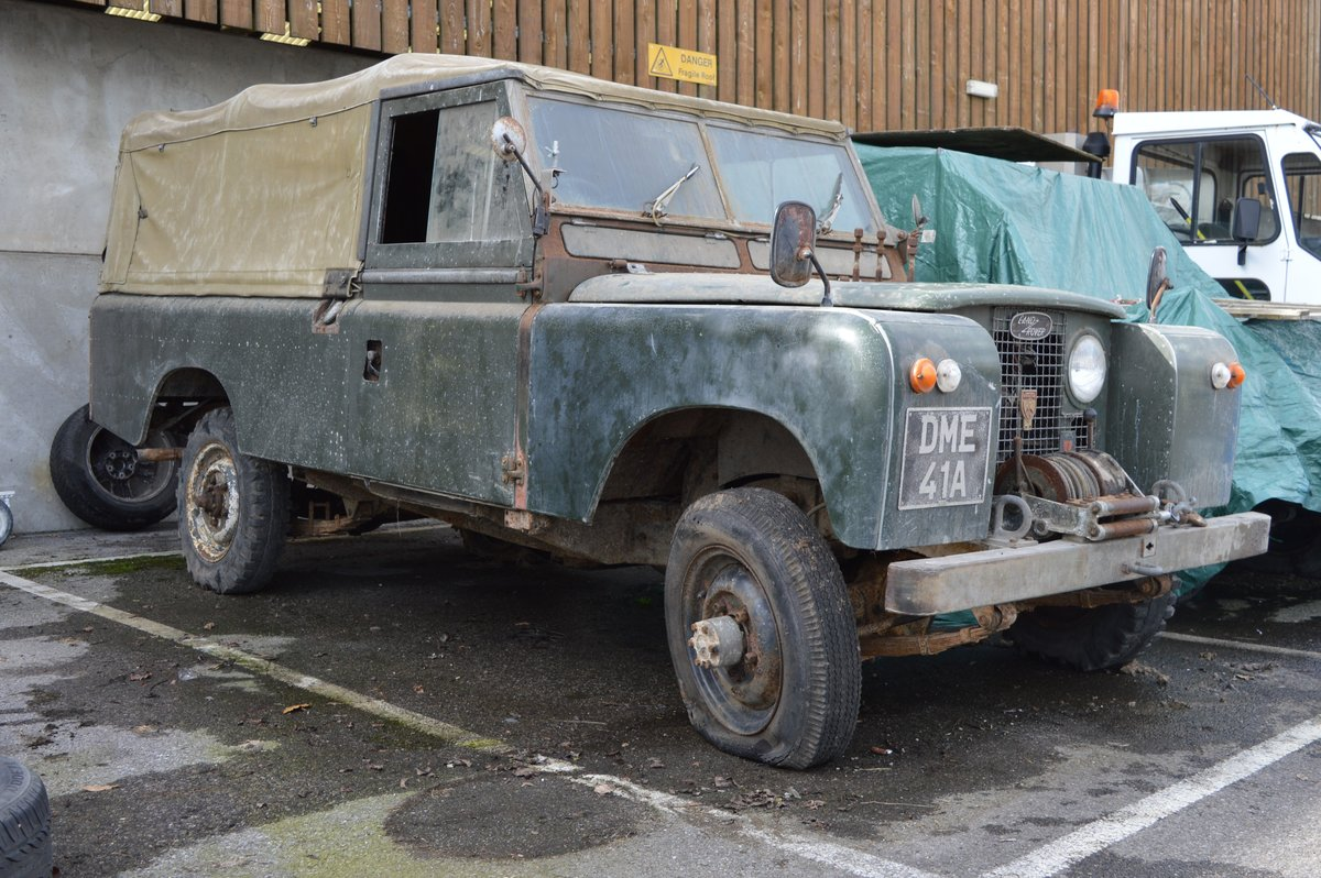 1963 Land Rover Series IIA For Auction Friday 12th For Sale by Auction (picture 4 of 6)