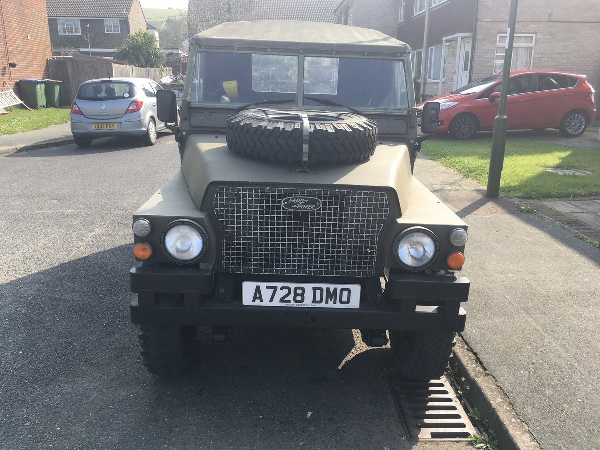 1983 Landrover Lightweight 12 Volt GS SOLD (picture 1 of 6)