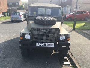 1983 Landrover Lightweight 12 Volt GS For Sale
