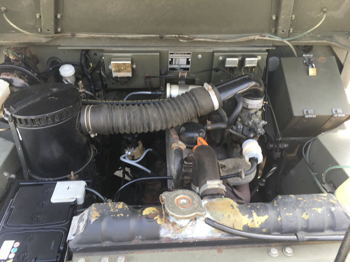 1983 Landrover Lightweight 12 Volt GS SOLD (picture 6 of 6)