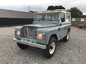 1982 Land Rover® Series 3 *Galvanised Chassis Station Wagon* (PJH For Sale