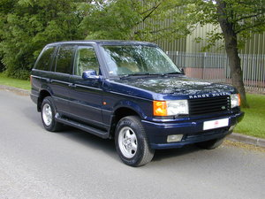 1998 RANGE ROVER P38 4.6 HSE RHD - COLLECTOR QUALITY! For Sale
