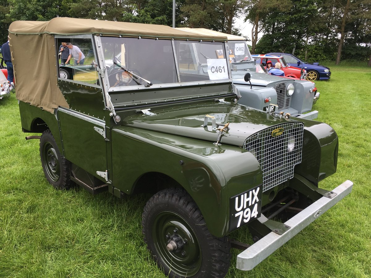 1949 Land Rover Series I 80 SOLD by Auction (picture 1 of 5)