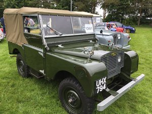 1949 Land Rover Series I 80 SOLD by Auction