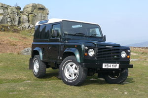 1996 DEFENDER 90 WITH LOW MILEAGE SOLD