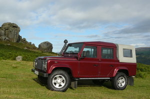 2003 DEFENDER 110 DOUBLE CAB WITH LOW MILEAGE SOLD