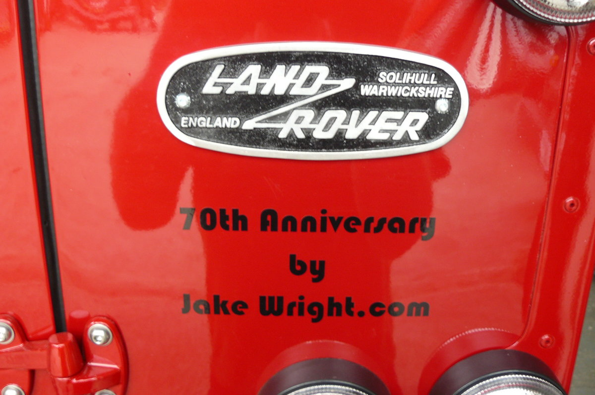 1994 DEFENDER 90 70TH ANNIVERSARY For Sale (picture 5 of 6)