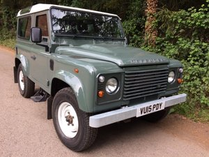 2015 Defender 90 Station wagon, One Owner, 11K Miles For Sale