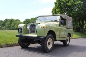 Land Rover Series 2 1966 - to be auctioned 26-07-2019 For Sale by Auction