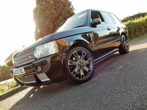 2009 RANGE ROVER TDV8 TWIN TURBO OVERFINCH  Wanted