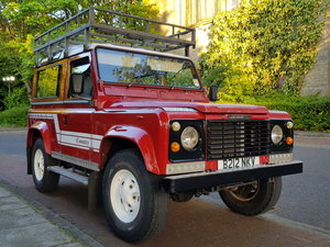 1984 *Sold** Rare Classic Land Rover 90 Defender County For Sale