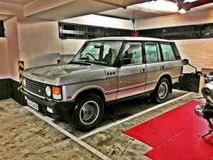 1991 Silver Range Rover Classic SOLD