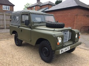"Land Rover Series 88"" Soft top. S reg 1978. Ex MOD. 79,000 m"
