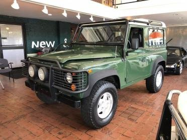1997 Land Rover Defender 90 = Restored Green LHD  $72.9k For Sale