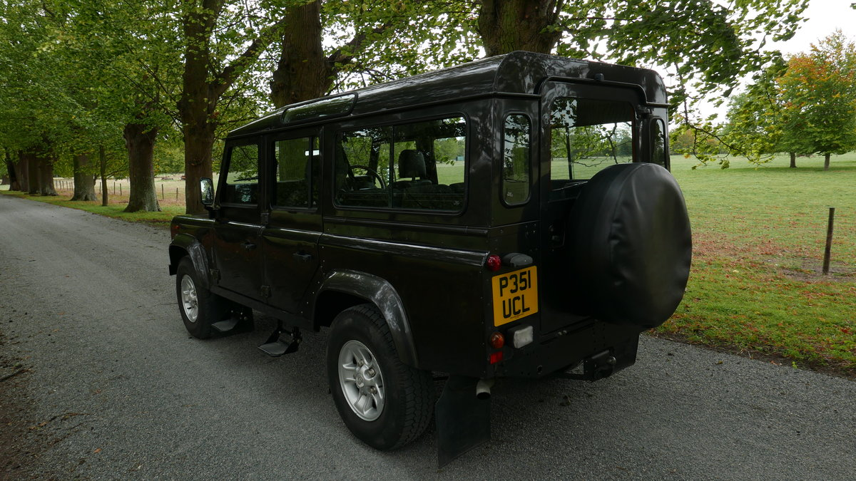 1996 Landrover Defender 110 CSW 300 Tdi FSH, 12 mo MOT For Sale (picture 3 of 6)