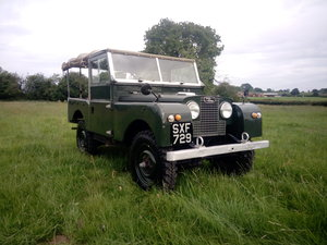 "Land Rover, SERIES ONE 88"" registered May 1958 For Sale"