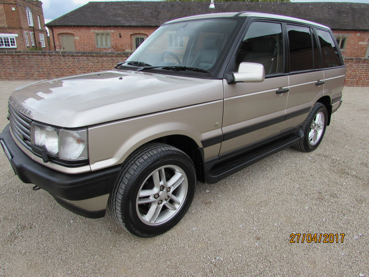 RANGE ROVER P38  4.6 HSE  1999 - 44,000  MILES FROM NEW For Sale (picture 6 of 6)
