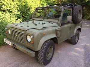 1998 Ex Ministry 90 Wolf Soft Top - INCLUDING VAT For Sale