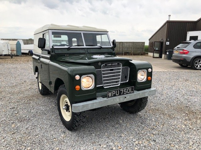 1972 Land Rover® Series 3 RESERVED For Sale (picture 1 of 6)