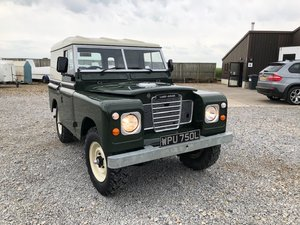 1972 Land Rover® Series 3 RESERVED SOLD