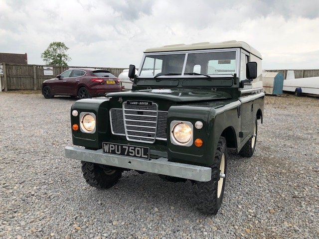 1972 Land Rover® Series 3 RESERVED For Sale (picture 2 of 6)