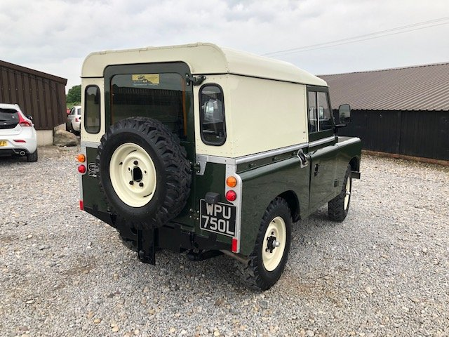 1972 Land Rover® Series 3 RESERVED For Sale (picture 4 of 6)