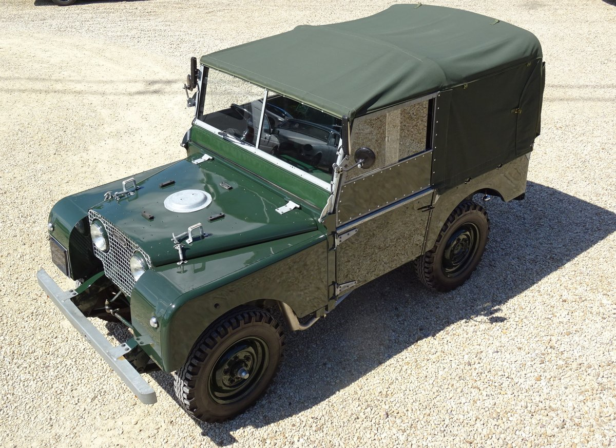 1951 Land Rover S1 80inch – Show Standard SOLD (picture 1 of 6)