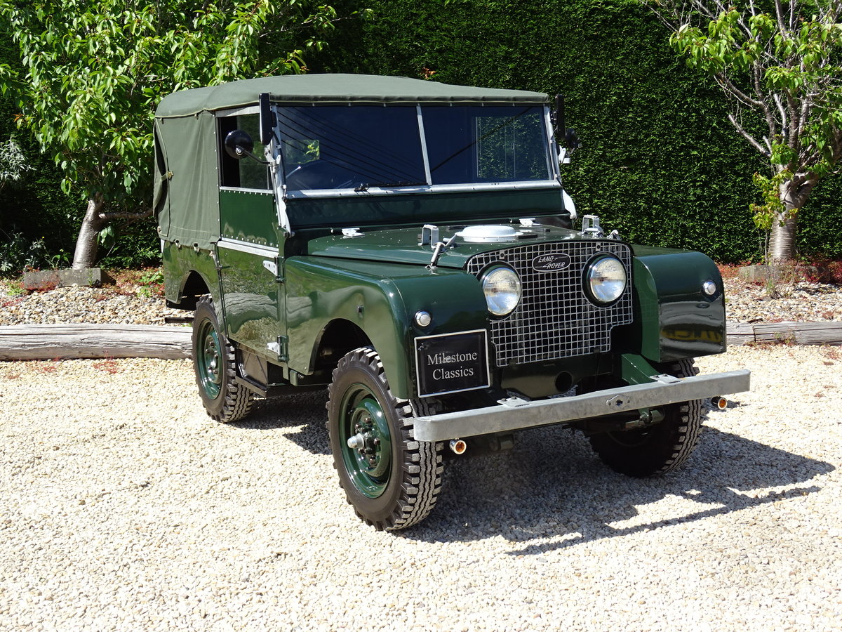 1951 Land Rover S1 80inch – Show Standard SOLD (picture 2 of 6)