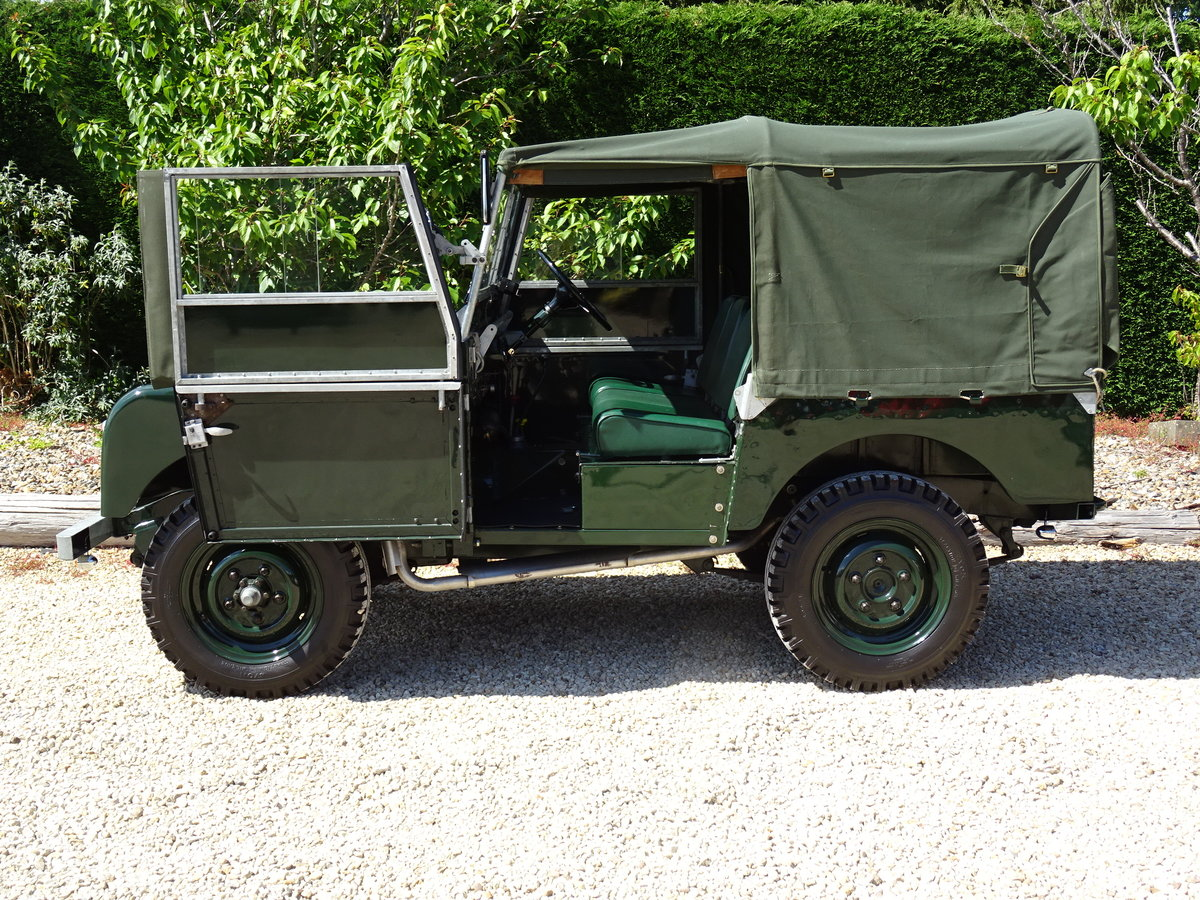 1951 Land Rover S1 80inch – Show Standard SOLD (picture 4 of 6)