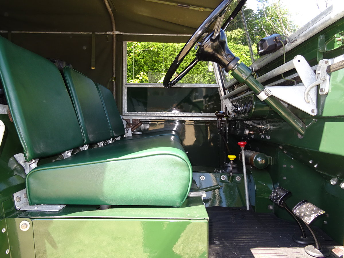 1951 Land Rover S1 80inch – Show Standard SOLD (picture 5 of 6)