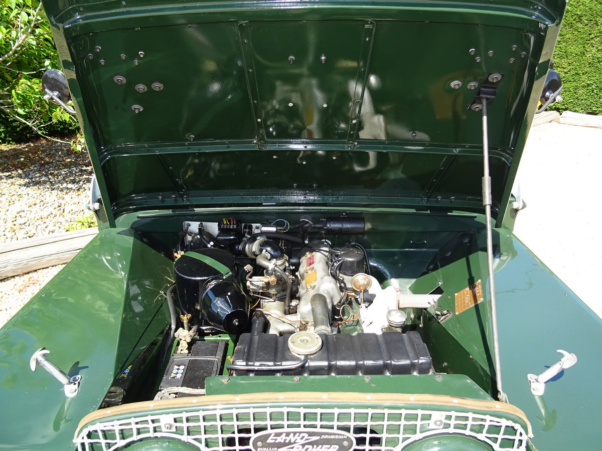 1951 Land Rover S1 80inch – Show Standard SOLD (picture 6 of 6)