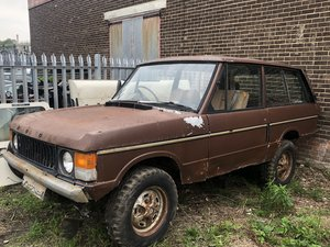 1973 suffix b range rover classic restoration project For Sale