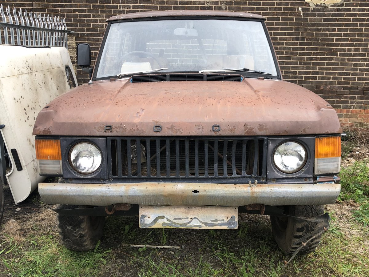 1973 suffix b range rover classic restoration project SOLD (picture 3 of 3)