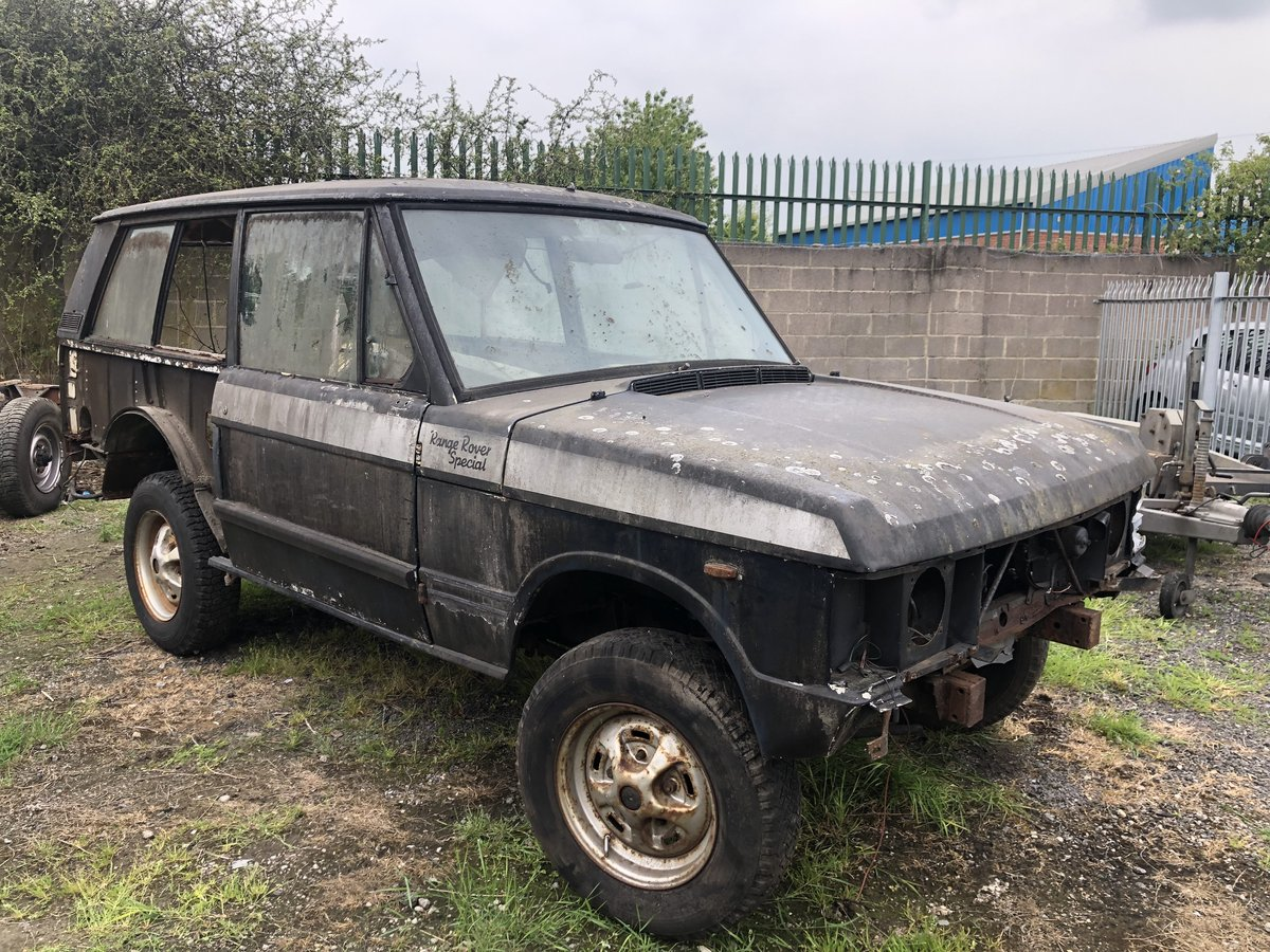 1972 RANGE ROVER CLASSIC ROLLING SHELL 2 DOOR  - LHD SOLD (picture 1 of 2)