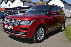 2017 Range Rover 3.0 TD V6 Vogue - Top end specification
