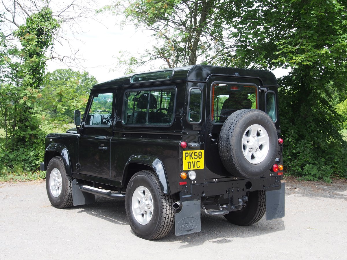 2008 Land Rover Defender 90 2.4 TDi XS 4X4 3dr For Sale (picture 3 of 6)
