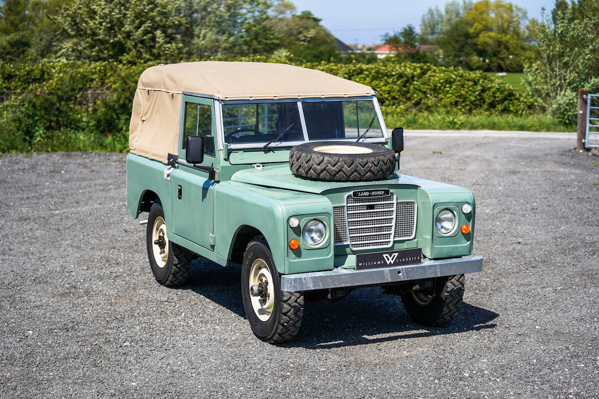 Land Rover Series 3 88 Soft Top 1975 TAX & MOT EXEMPT  SOLD (picture 2 of 6)